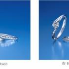 日本最大級のブライダルジュエリー専門店「銀座ダイヤモンドシライシ」から春の新作セットリングが誕生