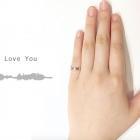 自分の声から作る最新型指輪「Encode Ring」で愛のメッセージを届ける