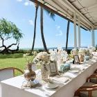 ハワイの名門ホテル「ハレクラニ」で絶景を満喫するエレガンスウェディング